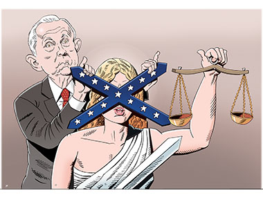 Jeff Sessions, racism, justice, AG, Attorney General, Trump Cabinet