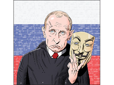 Putin, Tsar of Hackers, Computers, email, wikileaks, Russia