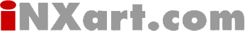 The INXart.com Logo